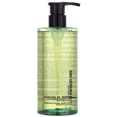 reinigendes Öl-Shampoo gegen Schuppen