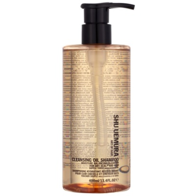 șampon ulei de curățare