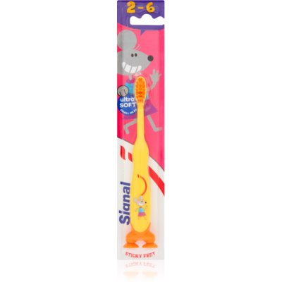 Zahnbürste mit Saugnapf für Kinder
