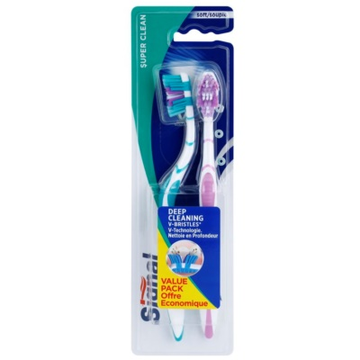 четки за зъби soft 2 бр