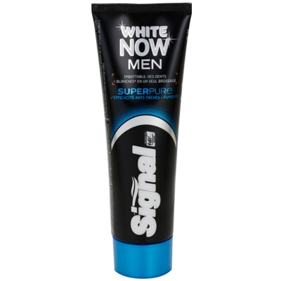 Signal White Now Men Super Pure Mannen Tandpasta  met Whitening Werking