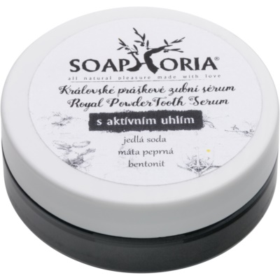 Soaphoria Royal Tooth Serum sérum royal pour les dents en poudre