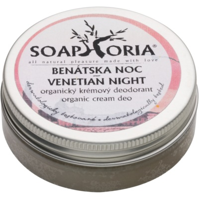 Soaphoria Venetian Night Antiperspirant Cream