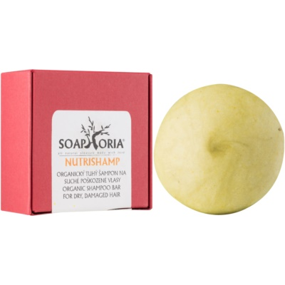 Soaphoria Hair Care Organic Shampoo Bar for Dry and Damaged Hair