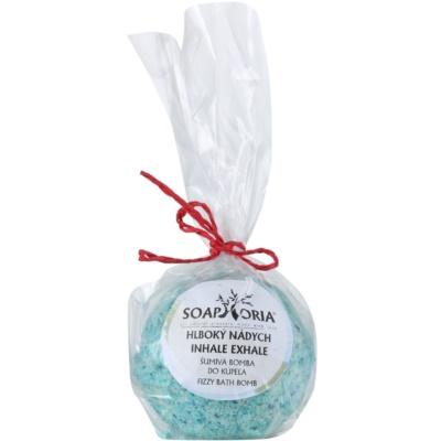 Soaphoria Inhale Exhale bola de banho com efeito regenerador