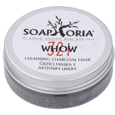 mascarilla limpiadora con carbón activo en polvo