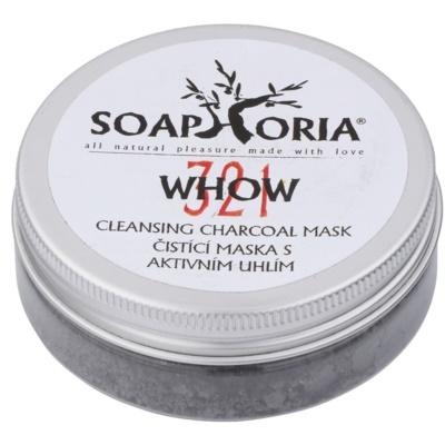 tisztító maszk szénporral
