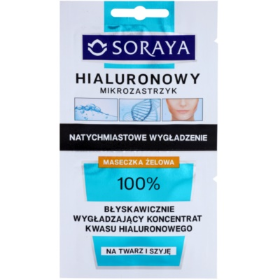 intenzívna liftingová maska s kyselinou hyalurónovou