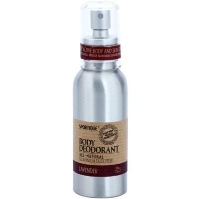 természetes spray dezodor