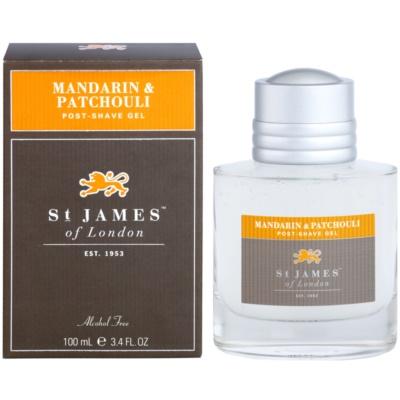 Aftershave gel  voor Mannen 100 ml