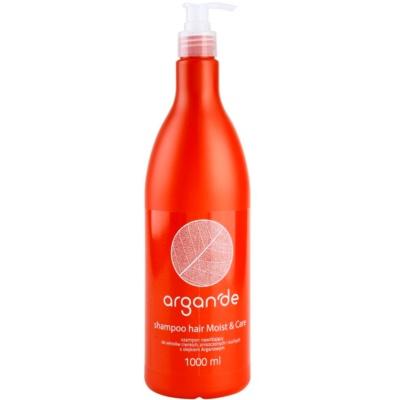 hydratační šampon s arganovým olejem