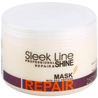 obnovující maska pro poškozené, chemicky ošetřené vlasy