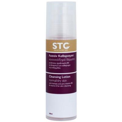 Reinigungsmilch für normale und trockene Haut