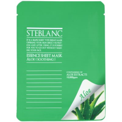 Steblanc Essence Sheet Mask Aloe masque apaisant visage