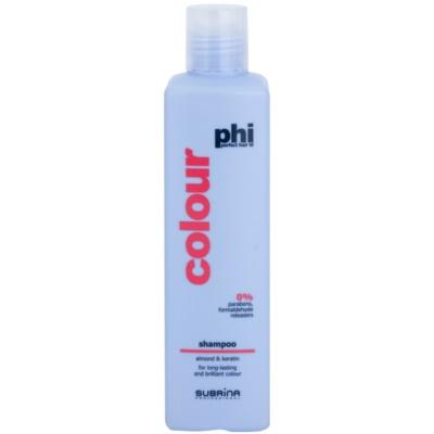 šampon na ochranu barvy s výtažky z mandlí