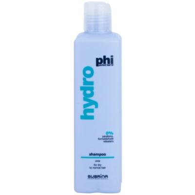 champô hidratante  para cabelo seco e normal