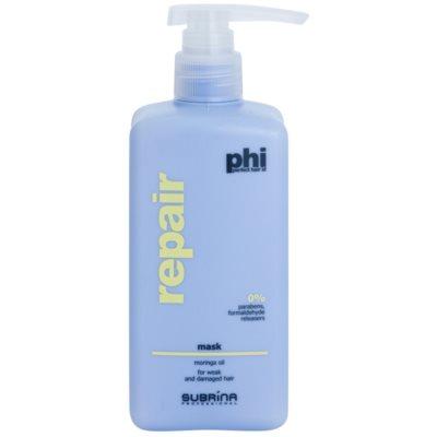 mascarilla reparación para cabello maltratado o dañado
