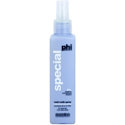 leche nutritiva y protectora para cabello castigado y dañado