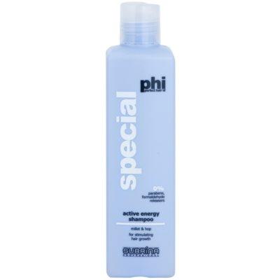 shampoo energizzante anti-caduta dei capelli
