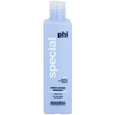 energijski šampon proti izpadanju las