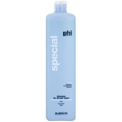 šampon pro všechny typy vlasů