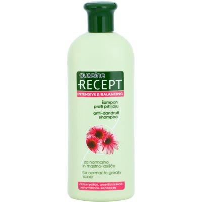 šampón proti lupinám pre normálne až mastné vlasy