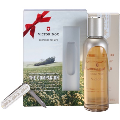 Swiss Army Victoria Gift Set II. Eau De Toilette 100 ml + Pocket Knife