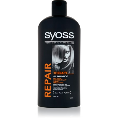 champô restaurador intensivo para cabelo danificado