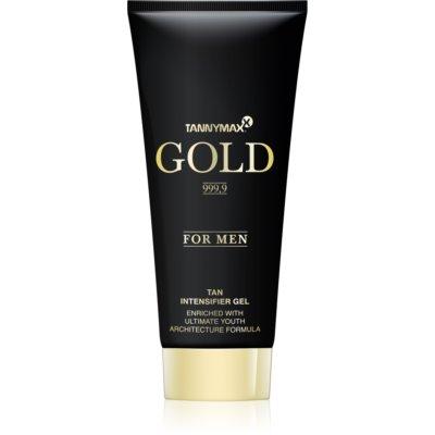 Tannymaxx Gold 999,9 Solskyddsmedel-gel för solarium för män