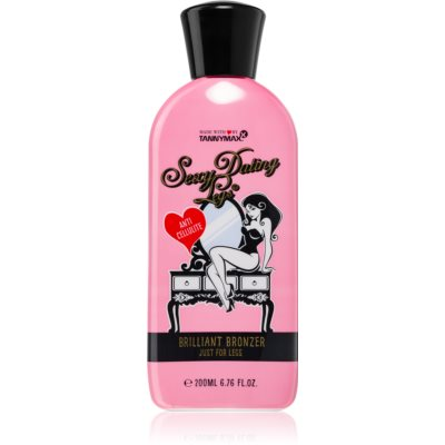 Tannymaxx Sexy Dating Legs Brilliant Bronzer Bronzer Tanning Bed Lotion for Legs