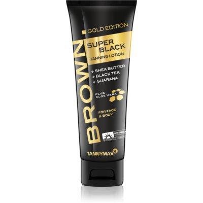 Tannymaxx Brown Super Black Gold Edition krema za sončenje v solariju pomoč za sončenje