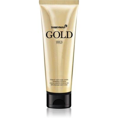 Tannymaxx Gold 999,9 αντηλιακή κρέμα για σολάριουμ για παρατετάμενο μαύρισμα