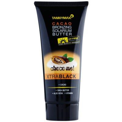 Tannymaxx Choco Me! XtraBlack Unt de bronzare pentru solar