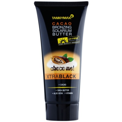 Tannymaxx Choco Me! XtraBlack beurre bronzant pour solarium