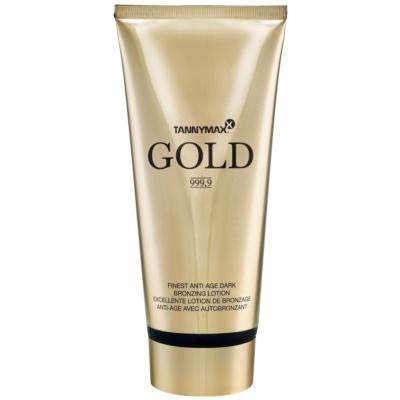 Tannymaxx Gold 999,9 Solarium-Sonnencreme mit Bronzer