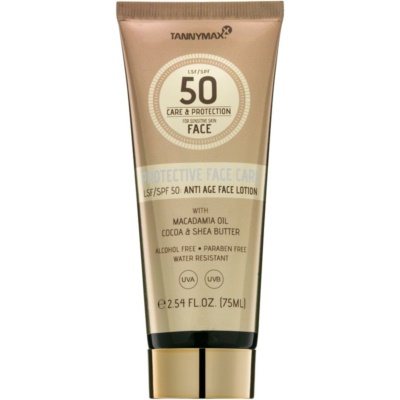 Water-Resistant Sun-Protecting Face Lotion SPF 50