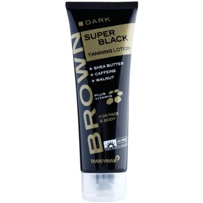 Tannymaxx Brown Super Black creme bronzeador para solário