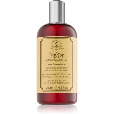 Taylor of Old Bond Street Sandalwood Shampoo and Body Wash