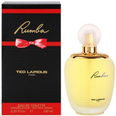 Ted Lapidus Rumba eau de toilette pour femme
