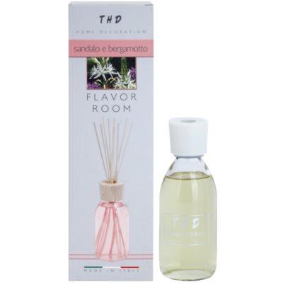 THD Diffusore THD Sandalo e Bergamotto aroma difuzor s polnilom