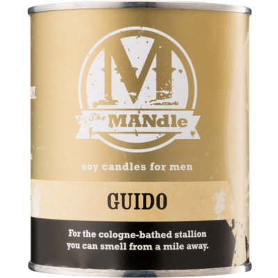 The MANdle Guido bougie parfumée