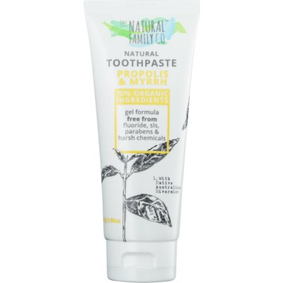 The Natural Family Co. Propolis & Myrrh Natural Toothpaste to Prevent Gingivitis