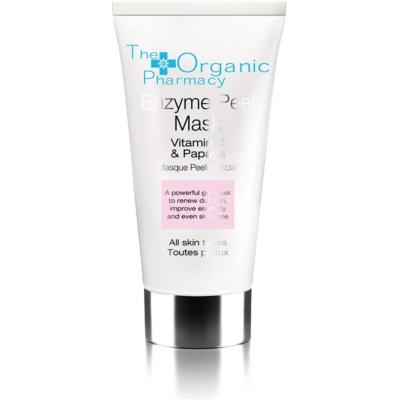Gesichtsmaske mit Enzymen mit Vitamin C