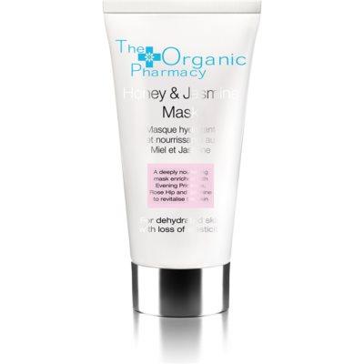 Gesichtsmaske mit Jasmin und Honig für trockene Haut