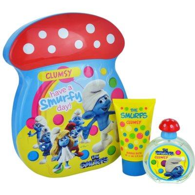 The Smurfs Clumsy confezione regalo I. eau de toilette 50 ml + mousse da bagno 75 ml