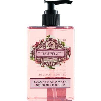Săpun lichid pentru mâini cu esente de trandafiri