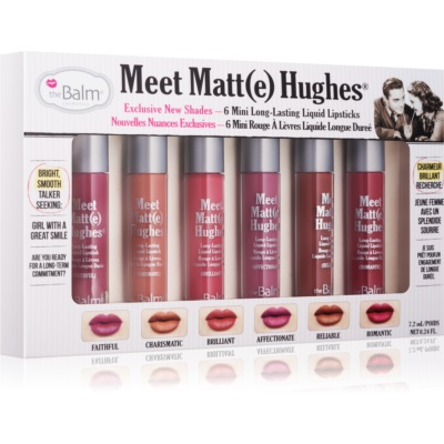 theBalm Meet Matt(e) Hughes Kosmetik-Set  II.