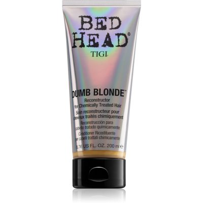 TIGI Bed Head Dumb Blonde balsamo per capelli trattati chimicamente