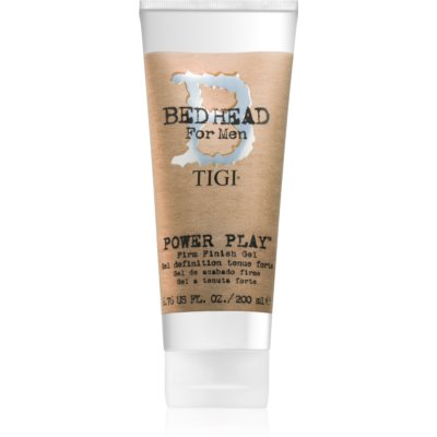 TIGI Bed Head B for Men Power Play stylingový gel silné zpevnění