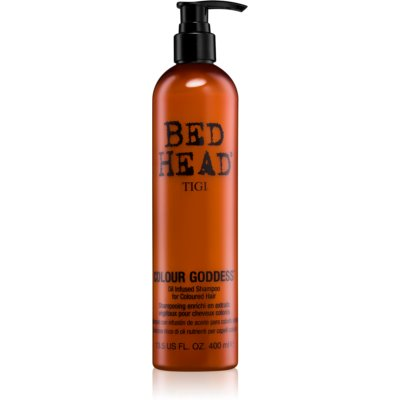 TIGI Bed Head Colour Goddess Oljeschampo  För färgat hår